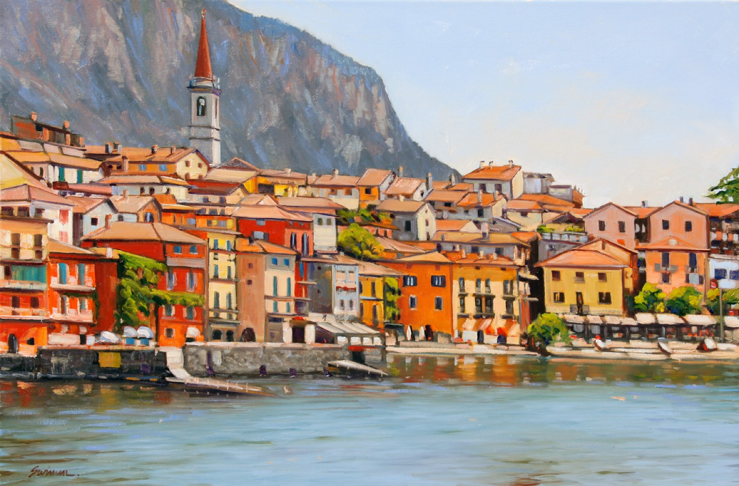 Colors of Lake Como 2015 24x36