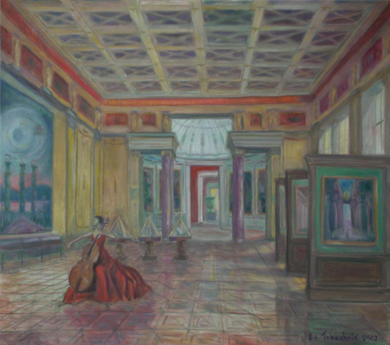 Hall of Precious Stone, New Hermitage 2007 32x36