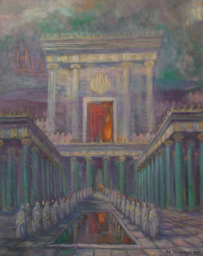 Herod's Temple in Jerusalem 2001 40x32