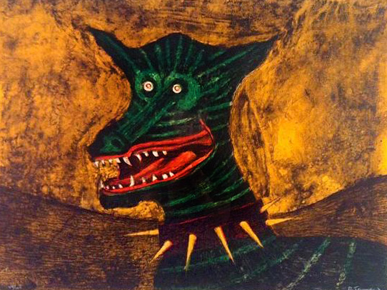 Chacal 1972 by Rufino Tamayo