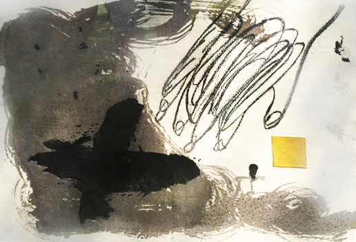 Aiguafort 1988 44x62 by Antoni Tapies