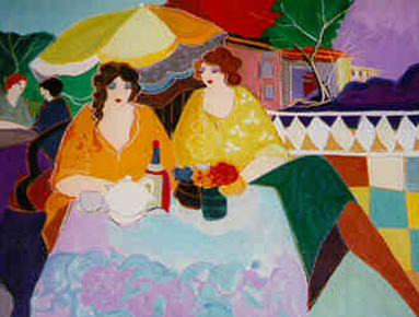 On the Terrace 40x30
