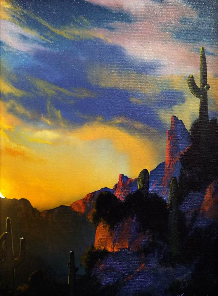 Southwest Glows in the Shadows 1992 25x29