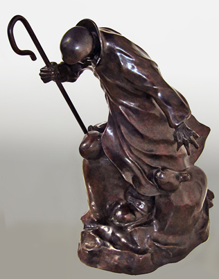 For the Ones You Love Bronze Sculpture 17 in