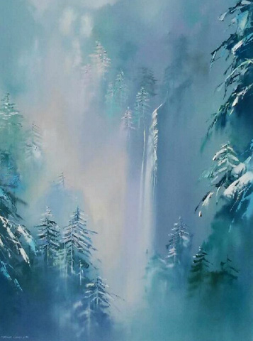 Winter Splendor 48x36