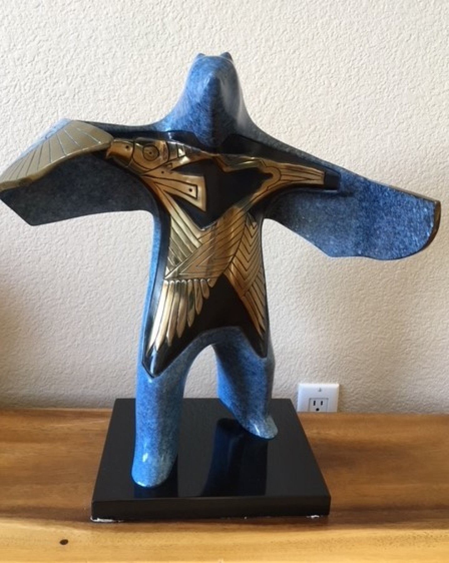 Thunderbird Shaman Bronze Sculpture AP  2018 13 in