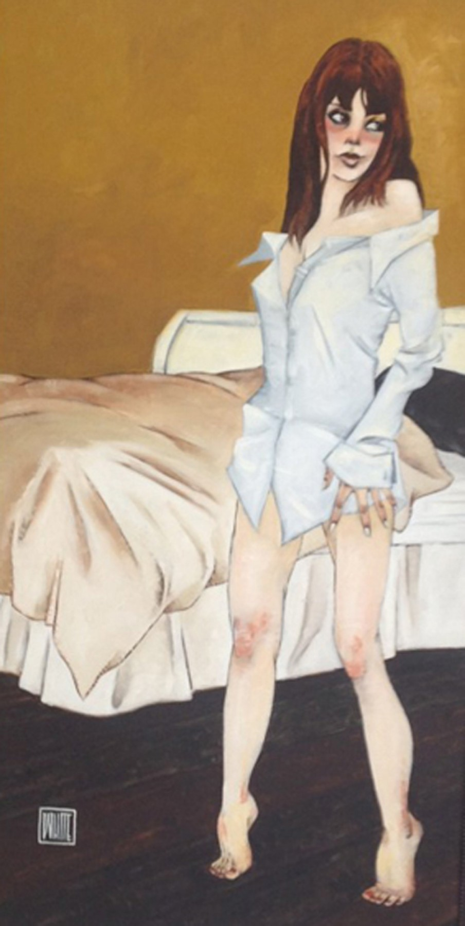 She Wears His Shirt 2012 50x31