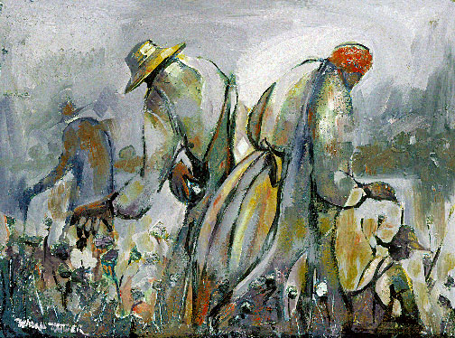 Cotton Pickers 30x40