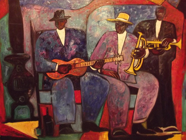 The Band 1992 by William Tolliver