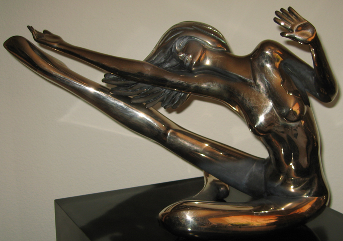 Encore Bronze Sculpture 1983 21 in