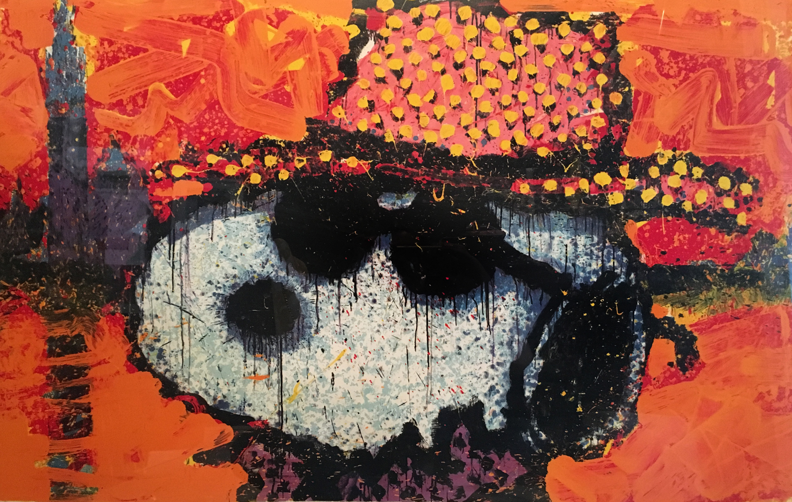 A Guy in a Sharkskin Suit Wearing a Rhinestone Hat By Twilight 2000 by Tom Everhart
