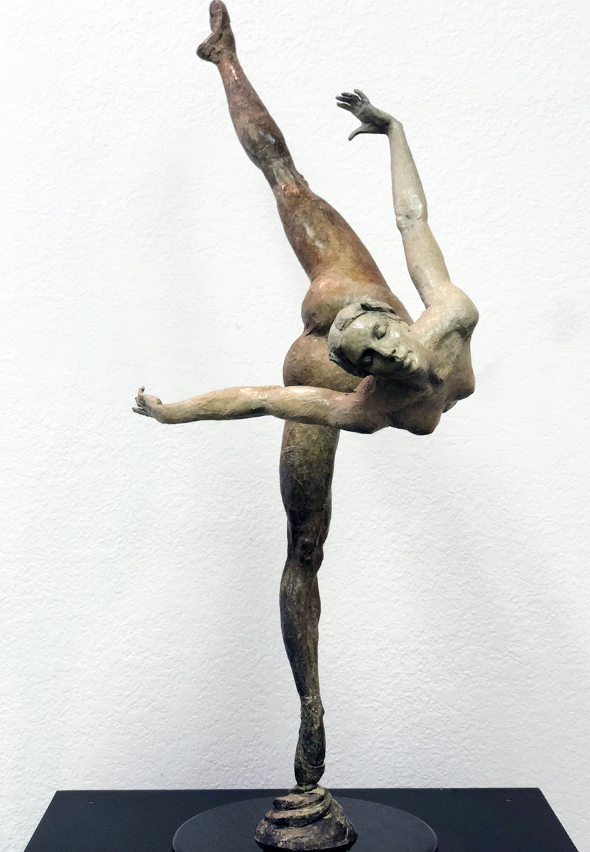 Libera Bronze Sculpture 2015 38 in