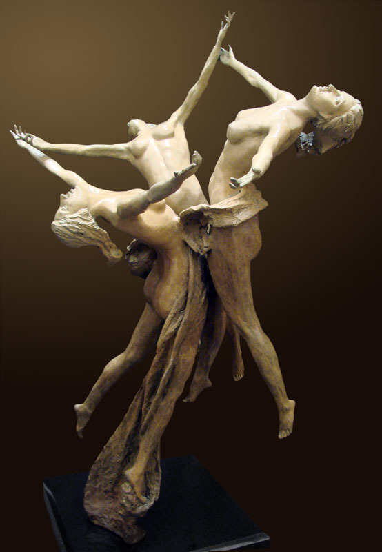 Unity Bronze Sculpture 2011