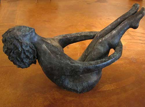 Joy of Life Life Size Bronze Sculpture 2005 66 in