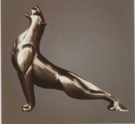 Lioness Bronze Sculpture