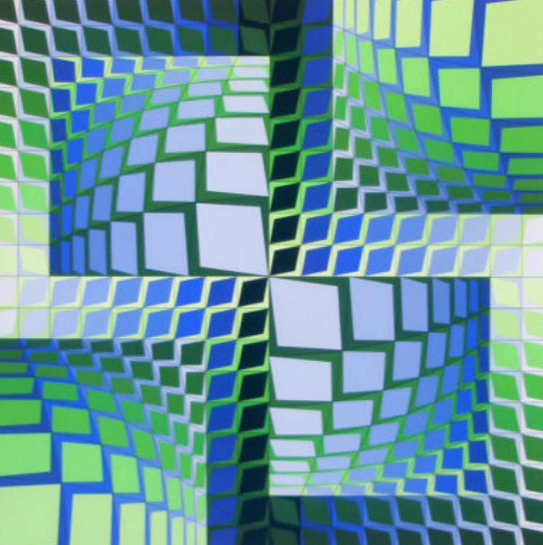 Thez  1981 by Victor Vasarely