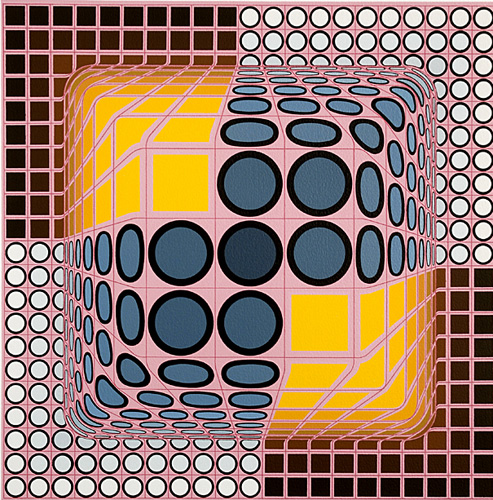 vasarely coloring pages - photo#12