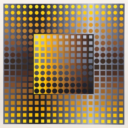 Untitled, From Permutations 1965 by Victor Vasarely