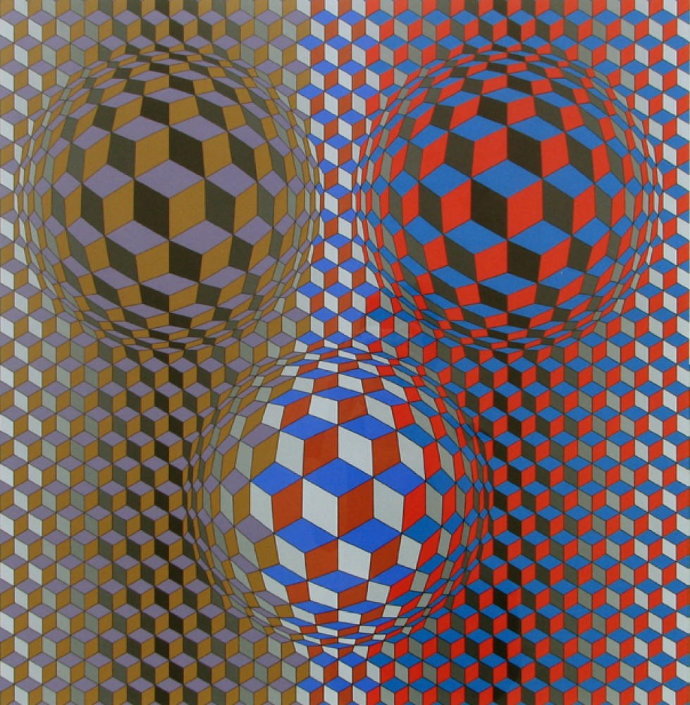 Nebulus II 1980 by Victor Vasarely