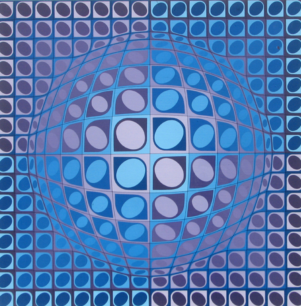 Vega 1980 by Victor Vasarely