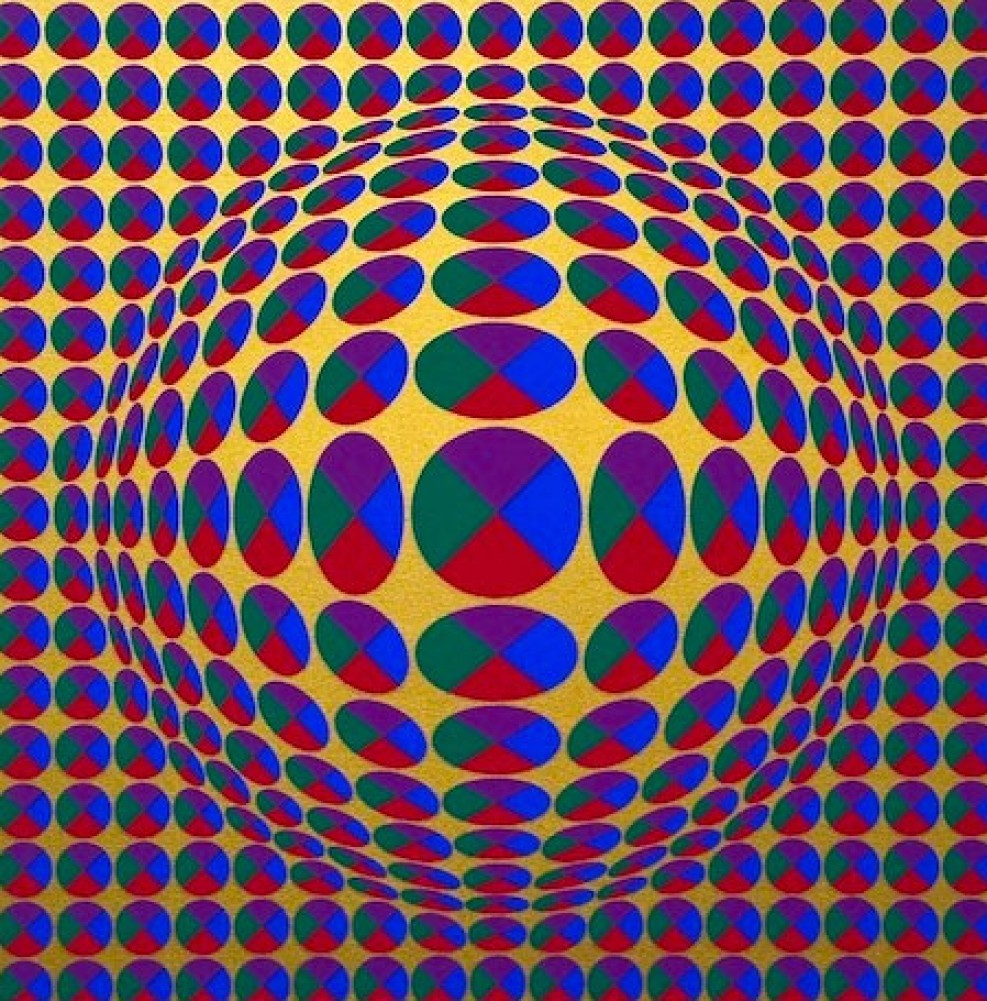 Untitled, From Eight Impressions 1970 by Victor Vasarely