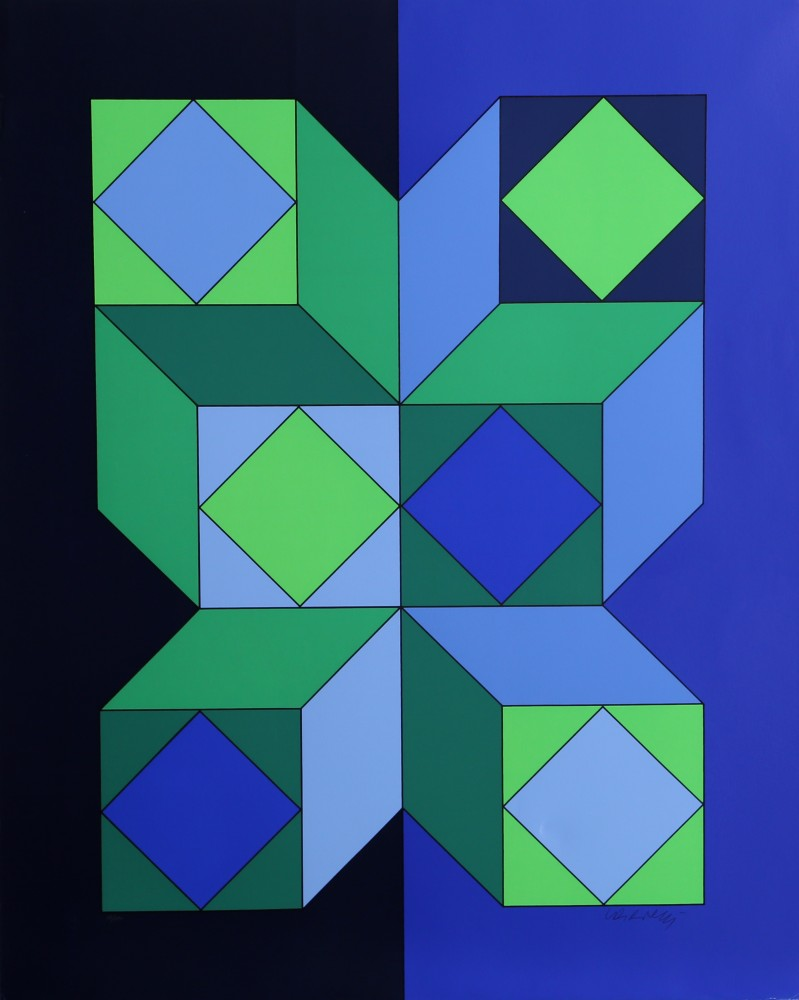 Untitled Serigraph 1973