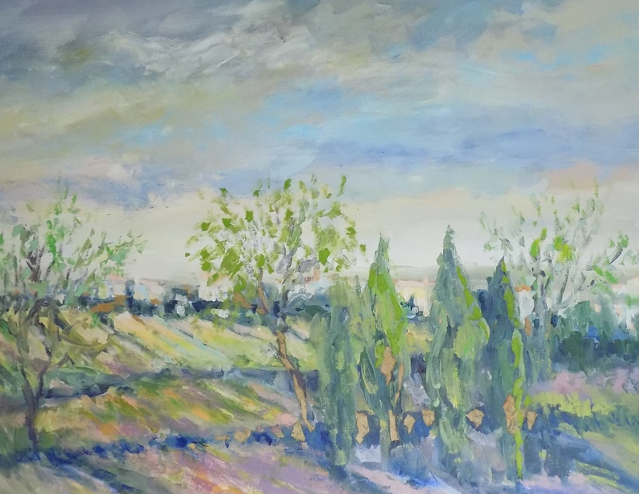 Untitled  Landscape 25x31