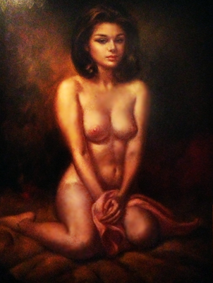 Untitled Nude Portrait 35x23