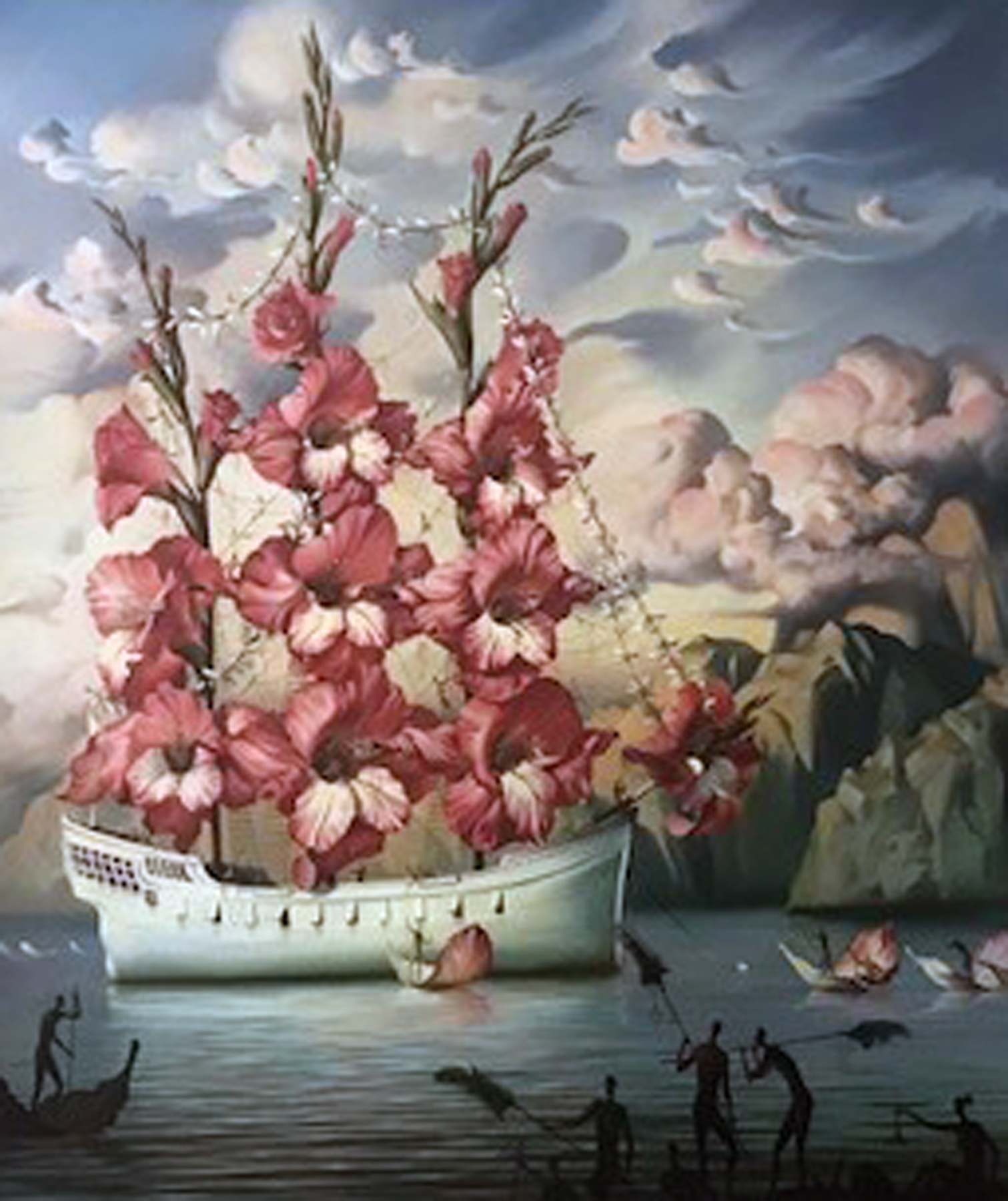 Arrival of the Flower Ship 2001