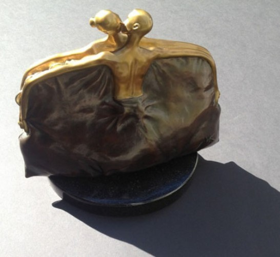 Purse Bronze Sculpture HC 1/10 2005
