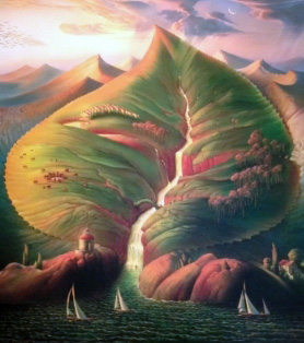 Ocean Sprouts 2012 by Vladimir Kush