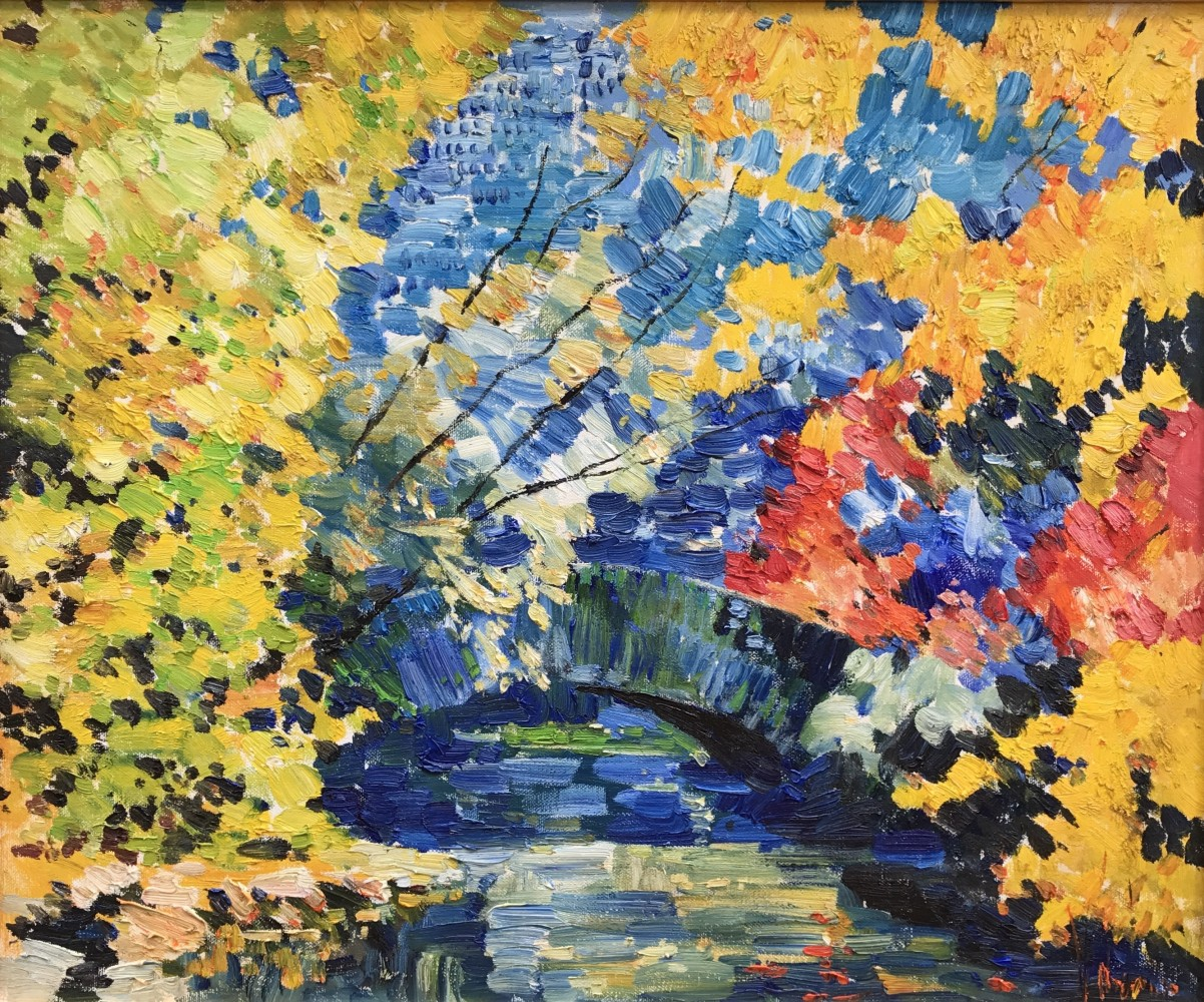 Autumn, Central Park 2017 23x27 (New York)