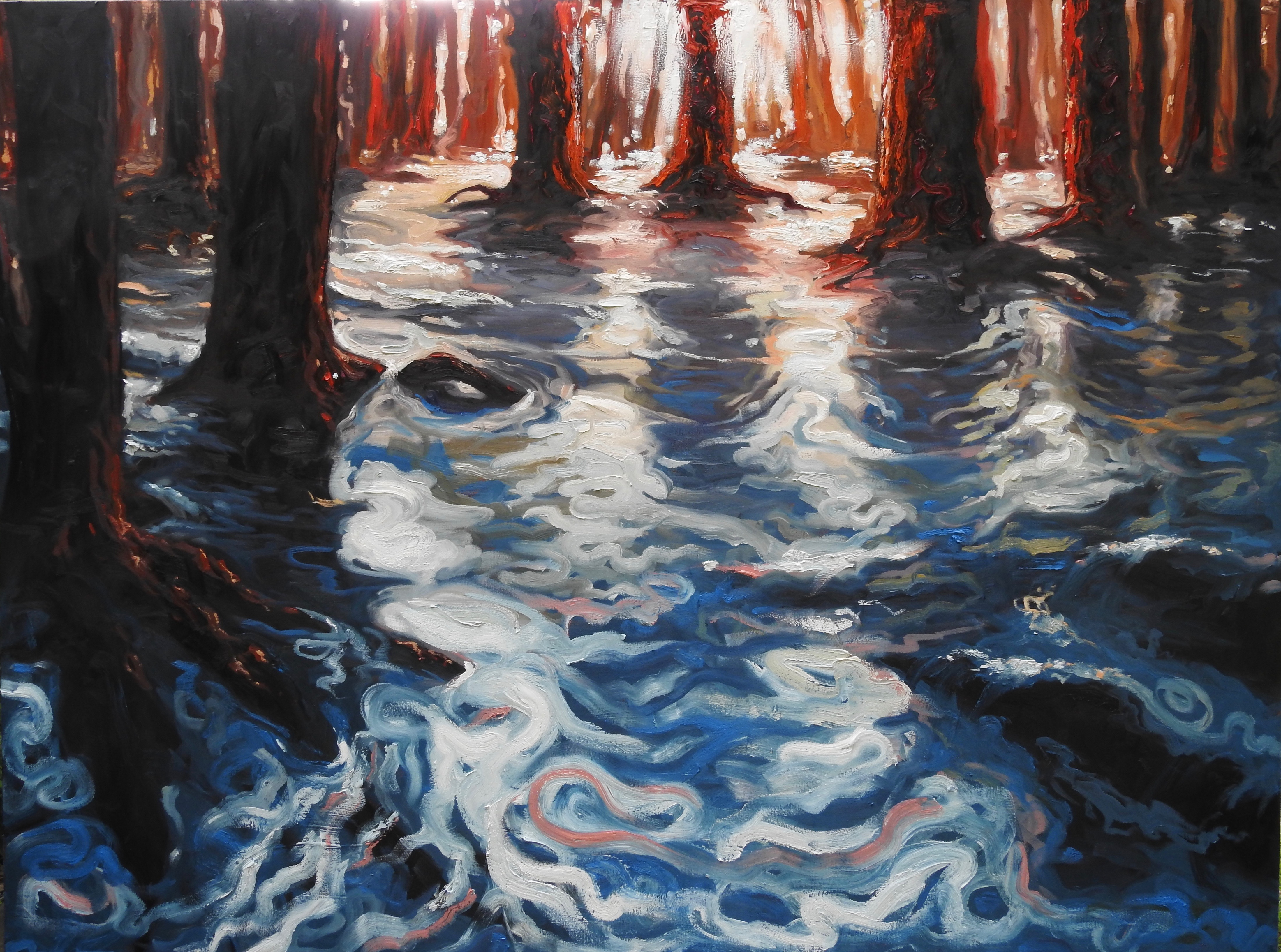 Flooded Forest 59x78