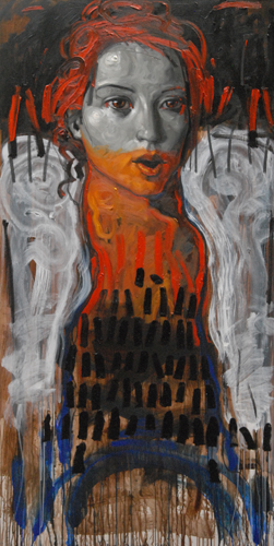 Portrait of a Woman 2011 78x39