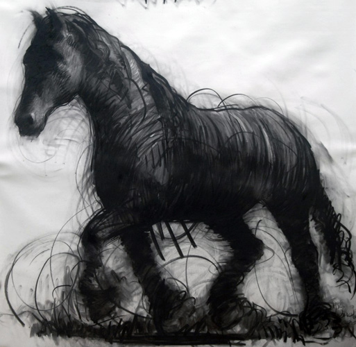 Horse Drawing 2015 59x59