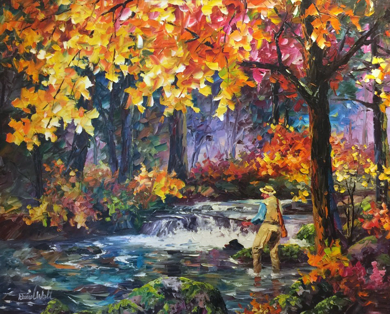 Autumn River 2013 39x32