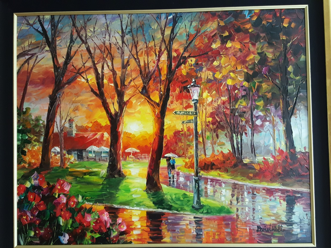 Lovely Sunset 2012 41x34