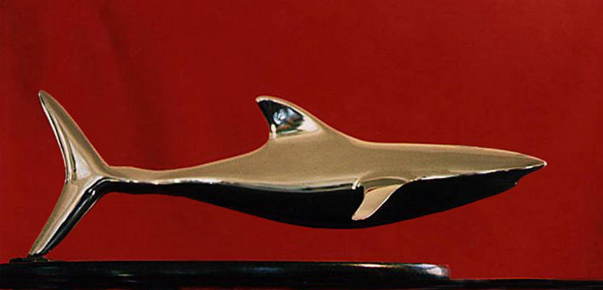 Shark Stainless Steel Sculpture 1989 21 in