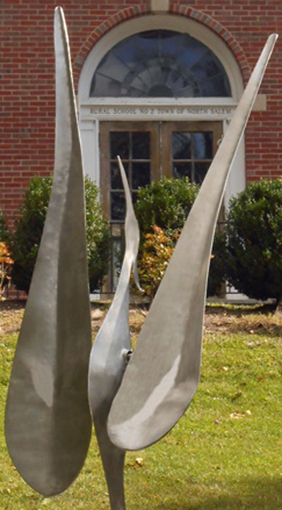 Wind Bird II  Steel Kinetic Sculpture 1998 98 in