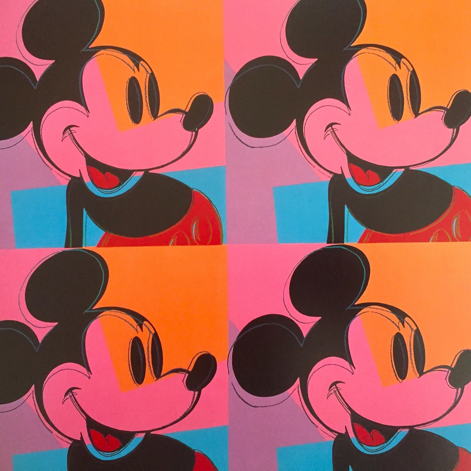 Myths: Mickey Mouse Poster 1981