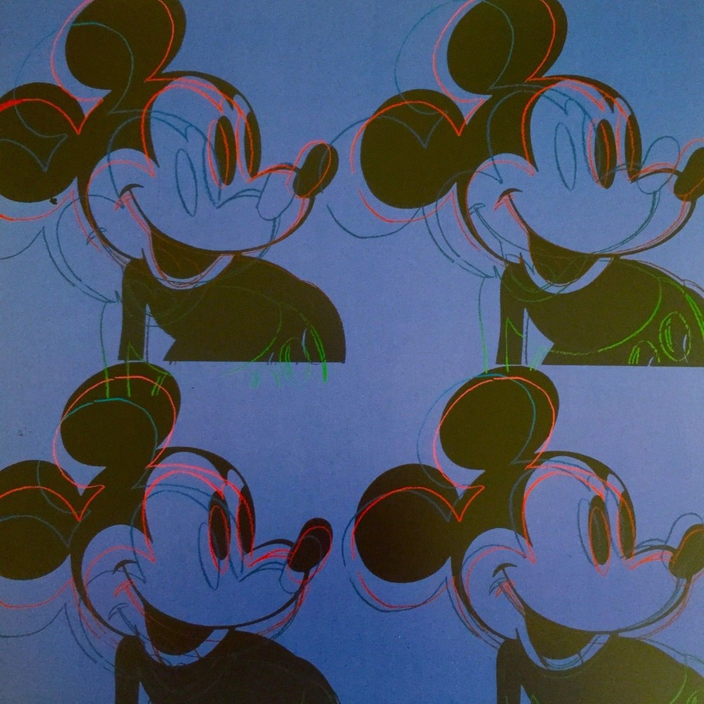 Myths: Mickey Mouse Poster 1995