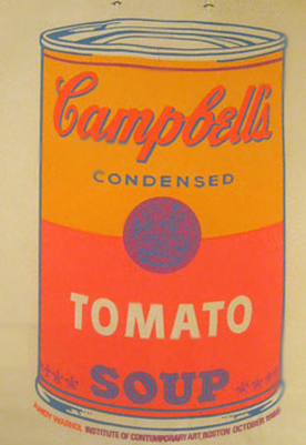 Campbells Soup Can on Shopping Bag II.4a 1966