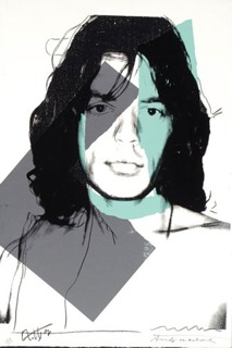 Mick Jagger FS II.138  by Andy Warhol