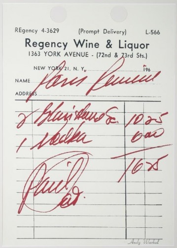 Paris Review 1967 by Andy Warhol