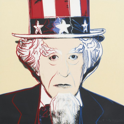 Uncle Sam II B.259 AP 1981 by Andy Warhol