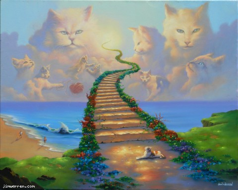 All Cats Go to Heaven 2013 28x34