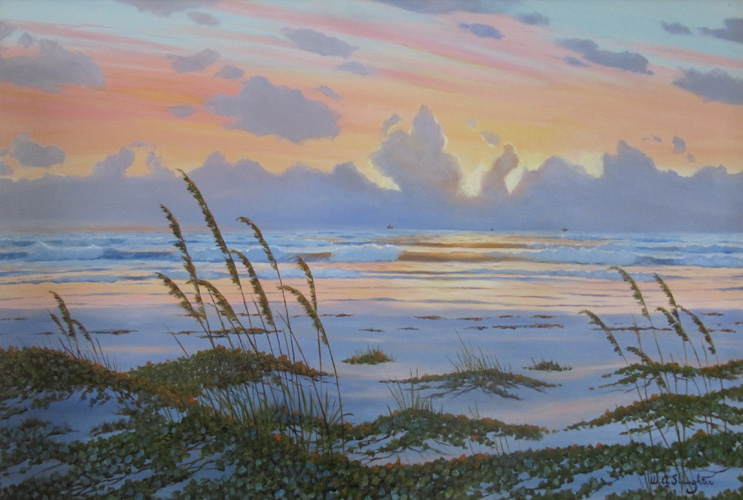 Sunrise on the Third Coast 1995 24x36