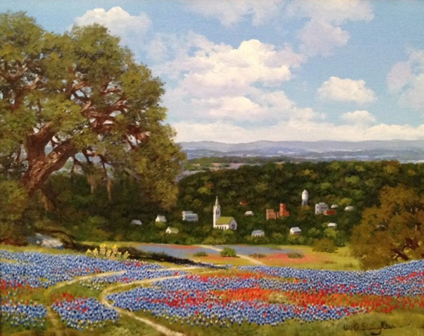 Blue Bonnet Village 1997 26x30
