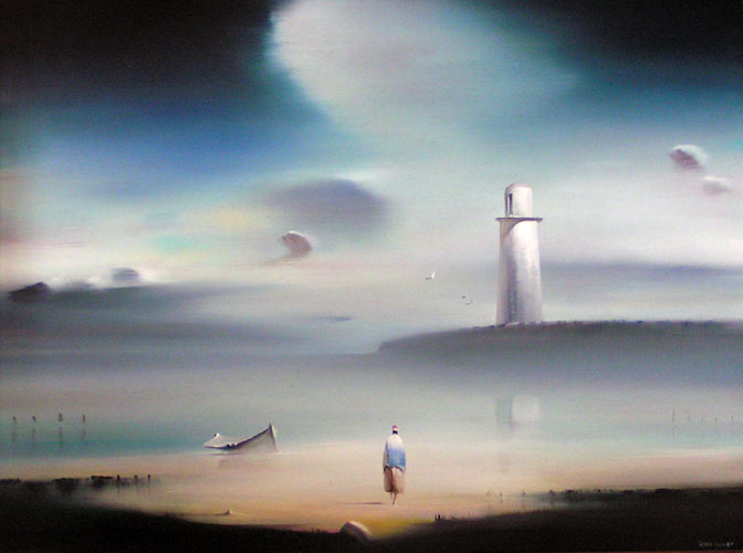 Lighthouse 1984 18x24