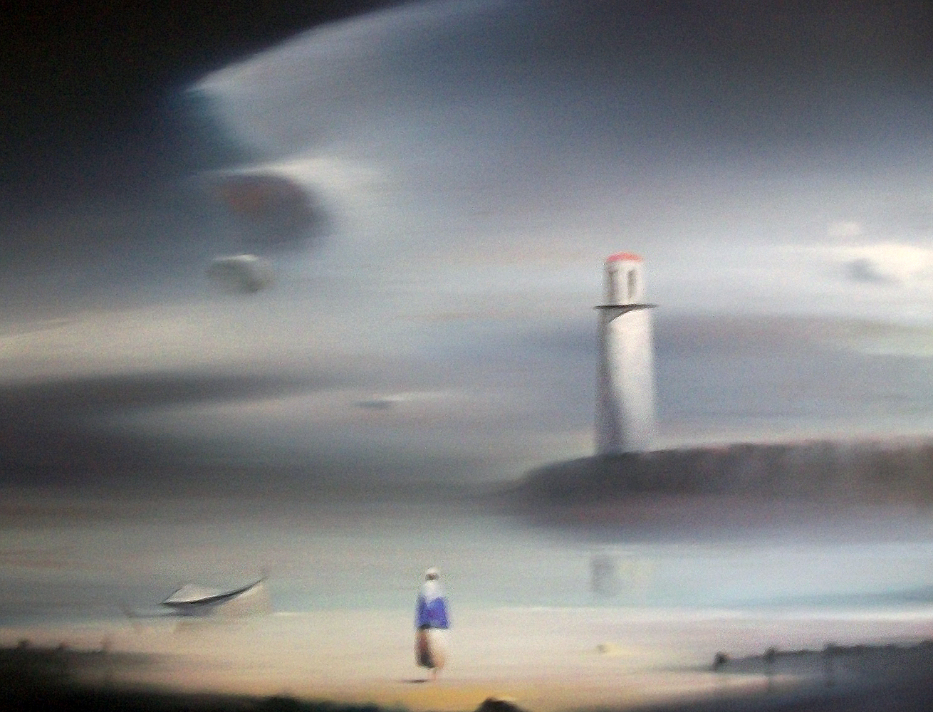 Lighthouse 1987 18x24